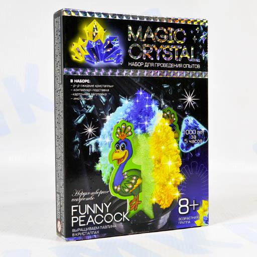 Magic Crystal Павлин Набор для проведения опытов
