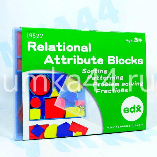 Учебно-игровое пособие Логические блоки арт.19522