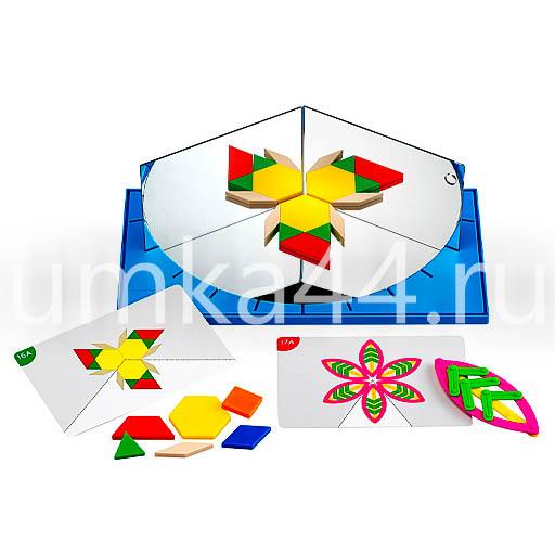 Учебно-игровое пособие Геометрическое зеркало арт.22242