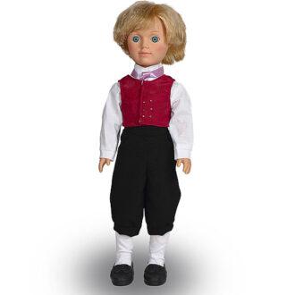 Кукла Александр в норвежском костюме Весна