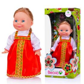 Веснушка в русском костюме