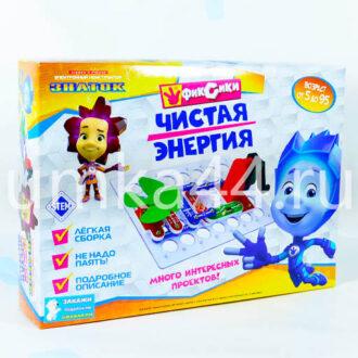 Электронный конструктор ЗНАТОК Фиксики Чистая энергия Знаток