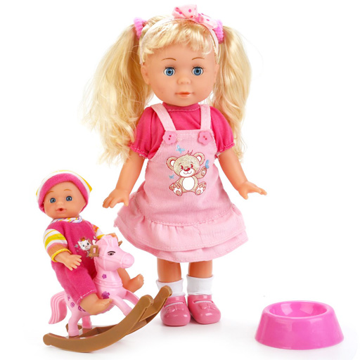 Кукла интерактивная 5 песенок Шаинского Карапуз